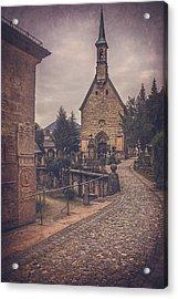 Petersfriedhof Salzburg  Acrylic Print