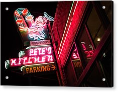 Pete's On Colfax Acrylic Print