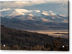 Pete's Valley At Dawn Acrylic Print