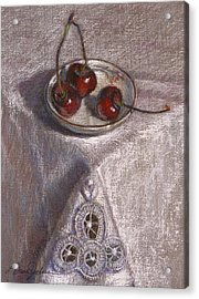 Petite Bowl IIi Acrylic Print by L Diane Johnson