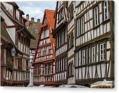 Petite France Houses, Strasbourg Acrylic Print