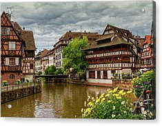 Petite France, Strasbourg Acrylic Print
