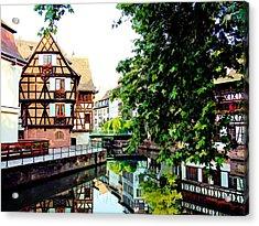 Petite France - Strassbourg, France Acrylic Print