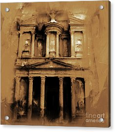Petra Jordan Art Acrylic Print