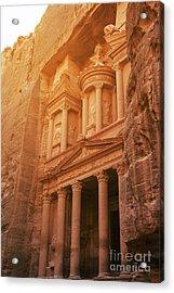 Petra Treasury, Jordan Acrylic Print by Jelena Jovanovic