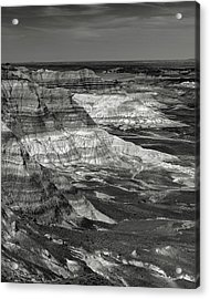 Petrified Forest Mesa Acrylic Print by Joseph Smith