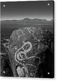 Petroglyphs IIi Acrylic Print by Joseph Smith