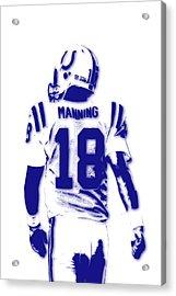 Peyton Manning Colts 2 Acrylic Print by Joe Hamilton
