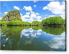 Phang Nga Bay Acrylic Print