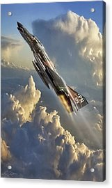 Phantom Cloud Break Acrylic Print by Peter Chilelli