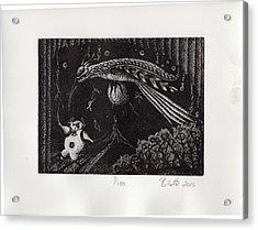 Phantom Flying A Phantom Acrylic Print