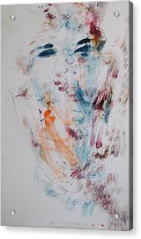 Phantom Of A Young Girl Acrylic Print by Esther Newman-Cohen