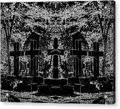 Phantom Of The Cemetery Acrylic Print