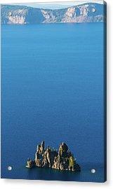 Phantom Ship Island Crater Lake National Park Oregon 2 Acrylic Print
