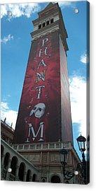 Phantom Tower Acrylic Print by Alan Espasandin