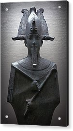Pharaoh Of Egypt Acrylic Print by Daniel Hagerman