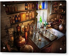 Pharmacist - A Little Bit Of Witch Craft Acrylic Print by Mike Savad