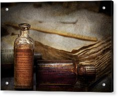 Pharmacist - Specific Medicines  Acrylic Print by Mike Savad