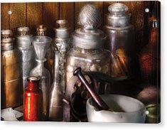 Pharmacist - Tools Of The Pharmacist  Acrylic Print by Mike Savad