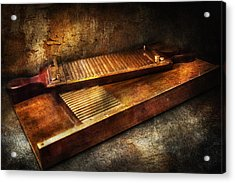 Pharmacy - Traditional Pill Crusher  Acrylic Print by Mike Savad