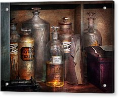 Pharmacy - That's The Spirit Acrylic Print by Mike Savad
