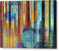 Phasing Through Acrylic Print by Robert Ball