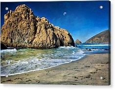 Pheiffer Beach - Keyhole Rock #10- Big Sur California Acrylic Print