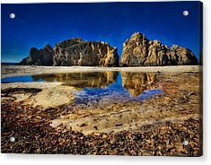 Acrylic Print featuring the photograph Pheiffer Beach #15 - Big Sur, Ca by Jennifer Rondinelli Reilly - Fine Art Photography