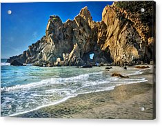 Pheiffer Beach #6 - Big Sur California Acrylic Print