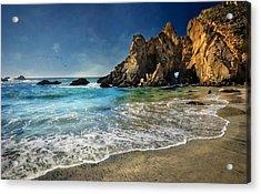 Pheiffer Beach #9- Big Sur California Acrylic Print