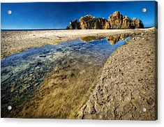 Acrylic Print featuring the photograph Pheiffer Beach- Keyhole Rock #19 - Big Sur, Ca by Jennifer Rondinelli Reilly - Fine Art Photography