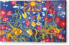 Pheobes Fish Tank Acrylic Print by Alfredo Llana