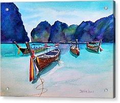 Phi Phi Island Acrylic Print