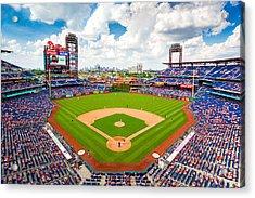 Philadelphia Phillies Acrylic Print by Aaron Couture