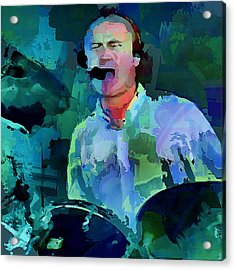 Phil Collins Drums Acrylic Print