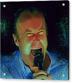 Phil Collins Ha Ha Ha Acrylic Print