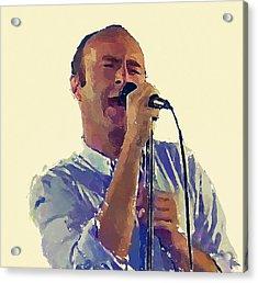 Phil Collins Mama Acrylic Print