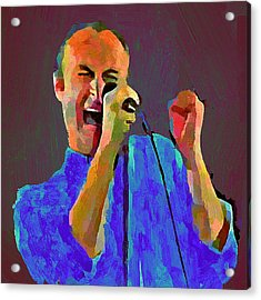 Phil Collins Tonight Tonight Acrylic Print