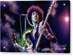 Phil Lynott - Thin Lizzy Acrylic Print