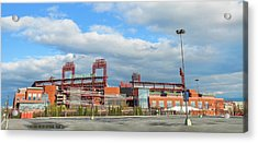 Philadelphia Baseball - Citizens Bank Park Acrylic Print by Bill Cannon