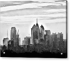 Philadelphia Acrylic Print by Bill Cannon