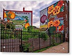 Philadelphia Community Gardens Acrylic Print