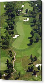 Philadelphia Cricket Club Militia Hill Golf Course 16th Hole 2 Acrylic Print