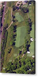 Philadelphia Cricket Club Militia Hill Golf Course 2nd Hole Acrylic Print by Duncan Pearson