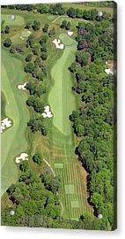 Philadelphia Cricket Club Militia Hill Golf Course 7th Hole Acrylic Print by Duncan Pearson