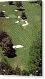 Philadelphia Cricket Club St Martins Golf Course 2nd Hole 415 W Willow Grove Ave Phila Pa 19118 Acrylic Print