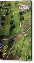Philadelphia Cricket Club Wissahickon Golf Course 11th Hole Acrylic Print by Duncan Pearson