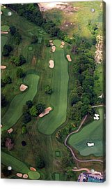 Philadelphia Cricket Club Wissahickon Golf Course 12th Hole Acrylic Print by Duncan Pearson