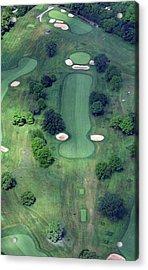 Philadelphia Cricket Club Wissahickon Golf Course 14th Hole Acrylic Print by Duncan Pearson