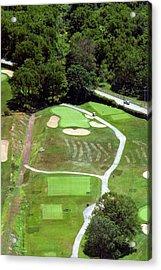 Philadelphia Cricket Club Wissahickon Golf Course 3rd Hole Acrylic Print by Duncan Pearson